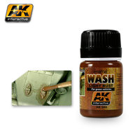AK Wash Light Rust  for Green Vehicles
