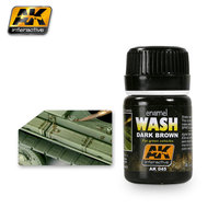 AK Wash Dark Brown for Green Vehicles