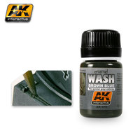 AK Wash Brown Blue For Panzer Grey  Vehicles