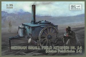 IBG Models German Small Fieldkitchen Hf.14  1:35