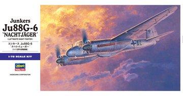 Hasegawa Junkers Ju-88G-6 'NACHTJAGER'  1:72