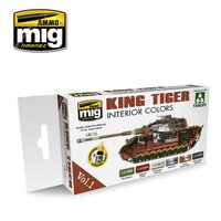 Ammo by Mig  Interior Colors King Tiger Set