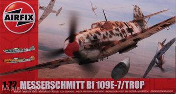 Airfix Messerschmitt Bf109E-7 Trop 1:72