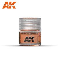 AK Real Color British Desert Pink ZI