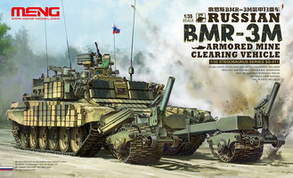 MENG Russian BMR-3M Armored Mine Clearing Vehicle  1:35