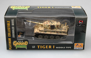 Easy Model  Tiger 1 Middle Type 1:72