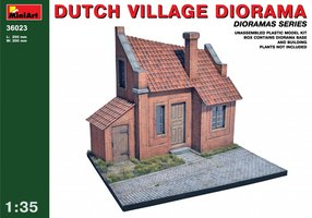 Miniart Dutch Village Diorama  1:35