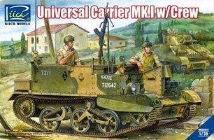 Riich Models Universal Carrier  Mk.I w/Crew 1:35