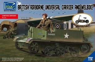 Riich Models British Airborne Universel Carrier and Welbike 1:35