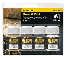 Vallejo Pigmenten set Dust&Dirt