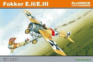 Eduard Fokker E.II/E.III ProfiPack 1:48