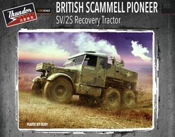 Thunder model British Scammell Pioneer SV/2S Recovery Tractor 1:35
