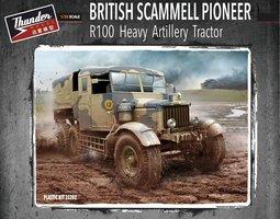 Thunder model British Scammell Pioneer Heavy Artillery Tractor R100 1:35