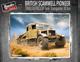 Thunder model British Scammell Pioneer TRMU30/TRCU30 Tank Transporter 30 Ton 1:35