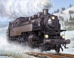 Trumpeter Dampflokomotive BR86 1:35