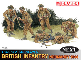 Dragon British Infantry Normandy 1944 1:35