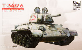 AFV -Club T-34/76 1942/43 Factory 183  1:35