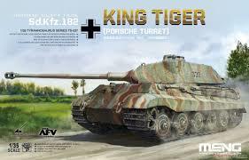 MENG Sd.Kfz.182 King Tiger Porsche Turret 1:35