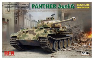 Rye Field Model Panther AusF.G Early/Late production  1:35