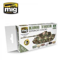 Ammo by Mig  Exterior Colors King Tiger Set