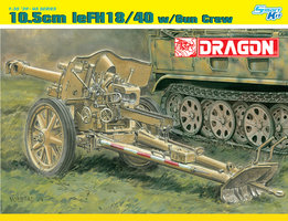 Dragon 10,5cm LeFH18/40 Gun with crew 1:35