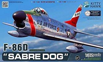 Kitty Hawk F-86D Sabre Dog  1:32