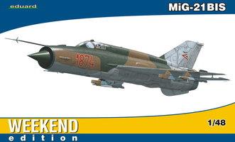 Eduard Mig-21BIS Weekend Edition  1:48