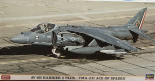 Hasegawa AV-8B Harrier II Plus