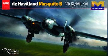 Hong Kong Models De Havilland MosquitoB Mk.IV/XVI 1:32