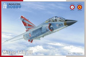 Special Hobby Mirage F.1B/BE 1:72