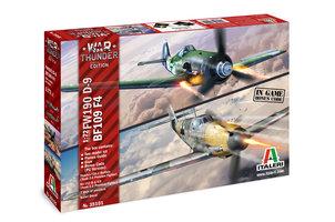 Italeri  War Thunder Fw190D&BF109 F-4 1:72