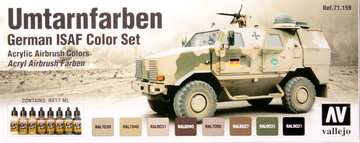 Vallejo German ISAF Color Set