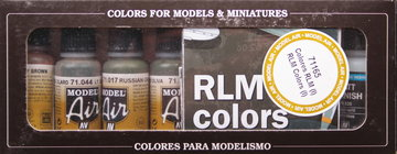 Vallejo Model Air  RLM Color Set