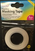Model Craft 2 mm Flexible Masking Tape