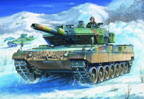 Hobbyboss German Leopard 2 A5/A6  Tank	  1:35