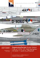 Dutch Decal Black Serials  1:72