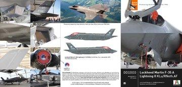 Dutch Decal Lockheed Martin F-35A 1:48