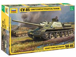 Zvezda SU-85 Soviet Tank Destroyer 1:35