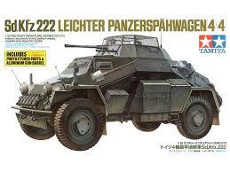 Tamiya Sd.Kfz.222 Leichter Panzerspahwagen  1:35