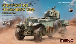 MENG British R-R Armored Car 1:35
