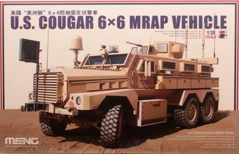 Meng  U.S Cougar 6x6 MRAP Vehicle 1:35