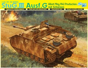 Dragon Stug.III Ausf.G May 1943 Production mit Schurzen  1:35