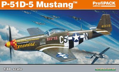 Eduard P-51D-5 Mustang ProfiPack  1:48