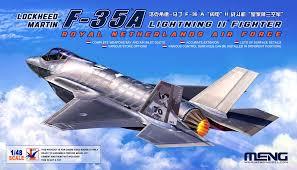 Meng F-35A Lightning II 1:48
