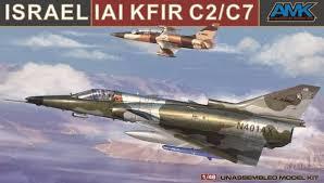 AMK Israel IAI Kfir C2/C7 1:48
