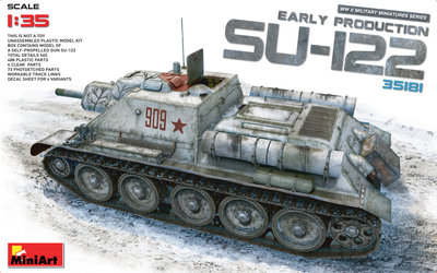 Miniart SU-122 Early Production 1:35