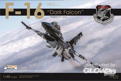 Kinetic F-16AM Dark Falcon  1:48